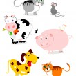 Animals — Stock Vector