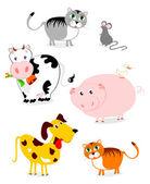 Animals — Stock Vector