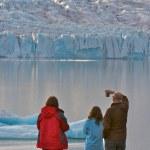 Lagoa glaciar de Islândia — Foto Stock