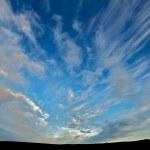 nuvens de Islândia — Foto Stock