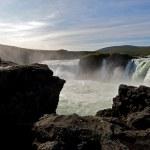 Cachoeira da Islândia — Foto Stock
