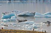 Iceland's icebergs — Stock Photo