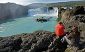 исландия водопад — Стоковое фото