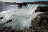 Iceland waterfall — Stock Photo