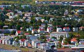 Islandia miasta — Zdjęcie stockowe