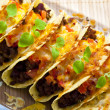 Stock Photo: Baked tacos
