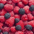 Royalty-Free Stock Photo: Raspberries and blackberries