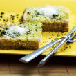 Stock Photo: Savoy cabbage lasagne