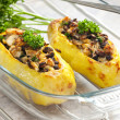 Baked potatoes — Stock Photo #2592851