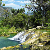 El Nicho waterfall — Stock Photo