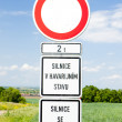 Road sign — Stock Photo #2600788