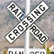 Railroad crossing — Stock Photo #2670017