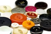 Assorted buttons — Stock fotografie