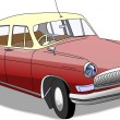 Old car - Stock Vector