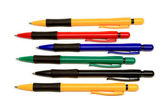 The group of ball pont pens — Stock Photo