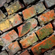 Wery old brickwork — Stock Photo