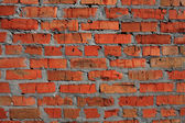 Red brickwork — Stock Photo