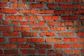 Old brickwork with light spot — Stock Photo