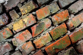 Wery old brickwork — Stockfoto