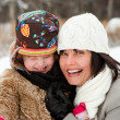 Happy mother with daughter — Stock Photo #2468752