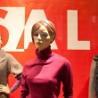Mannequins in the mall — Stock Photo