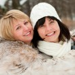 Stock Photo: Two happy middle-aged women