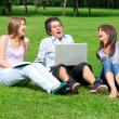 Three students — Stock Photo #2470551