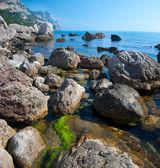 Rocky coast — Stock Photo
