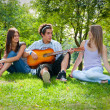 Singing in the park — Stock Photo #2567880