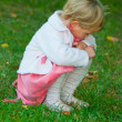 Sad little girl — Stock Photo #2577205