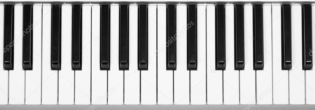 Piano keyboard  Stock Photo #2576656