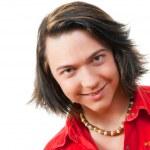 Happy young guy portrait in studio — Stock Photo #2606238