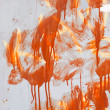 Painted stained wall texture — Stock Photo