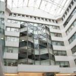 Interior of modern office centre — Stock Photo