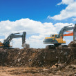 Working excavators — Stock Photo #2608697