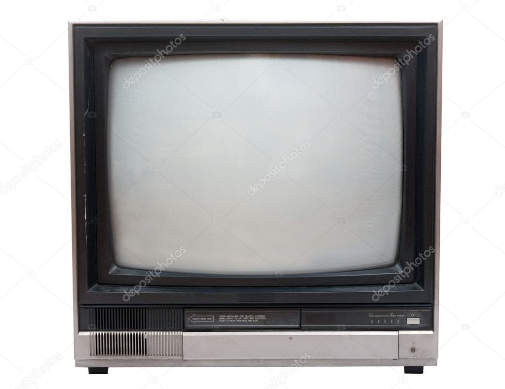 Very old TV set...