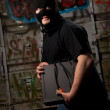 Thief in a mask — Stock Photo #2611741