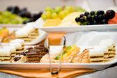 Dessert plate — Stock Photo