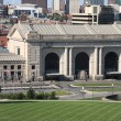 Kansas City Skyline - Union Station - Stock Photo