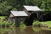 Mabry Mill - Blue Ridge Mountains — Stock Photo