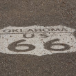 Oklahoma Route 66 Shield — Stock Photo