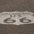 Bouclier d'Oklahoma route 66 — Photo