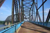 Route 66 - Chain of Rocks Bridge — Stock Photo