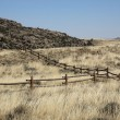 Wyoming Grassland Landscape — Stock Photo