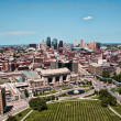 View of Downtown Kansas City Skyline — Stock Photo