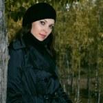 Woman in autumn park 3 — Stock Photo