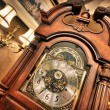 Old antique clock — Photo