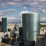 Business architecture in Paris — Stock Photo #2504459