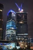 Building of skyscrapers — Stock Photo