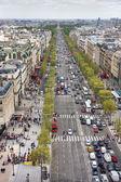 Champs Elysees, Paris — Stock Photo